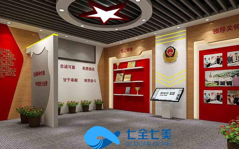 北京智慧党建展厅-多媒体党建展厅设备