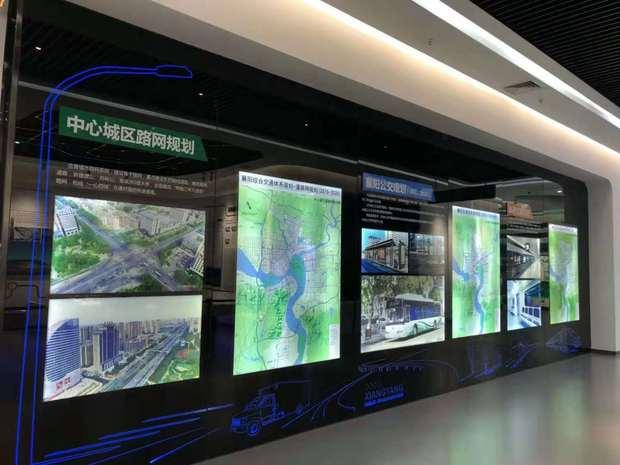 互动多媒体税务展馆装修设计,国税展厅设计