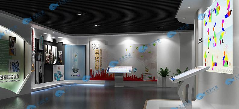 法治展馆3d设计图纸