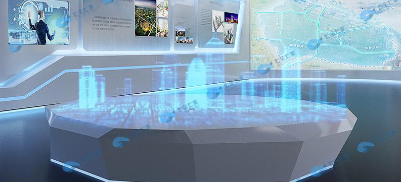 VR互动城市规划展厅设计效果图