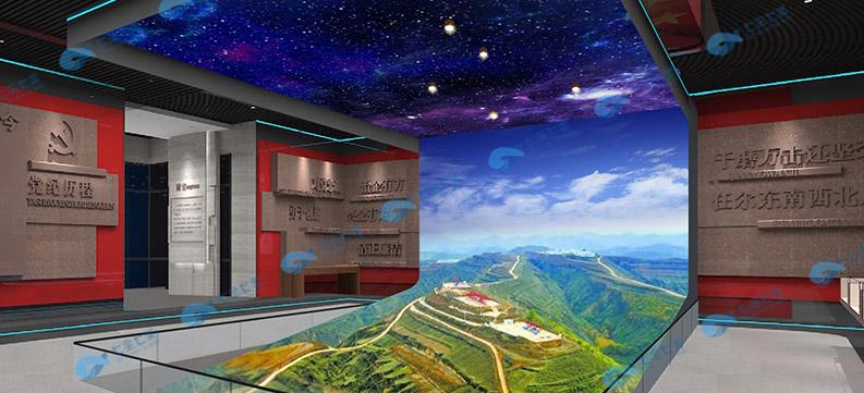 展厅多媒体设备360全息显示,展馆产品全息交互投影,教育基地定制全息显示