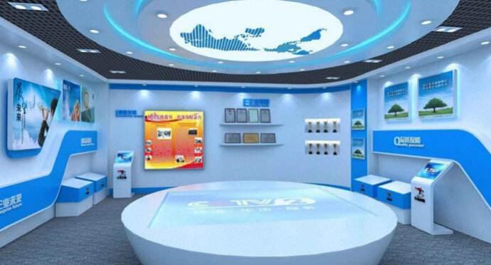 智能化展览馆设计公司对展厅的设计高艺术性要求