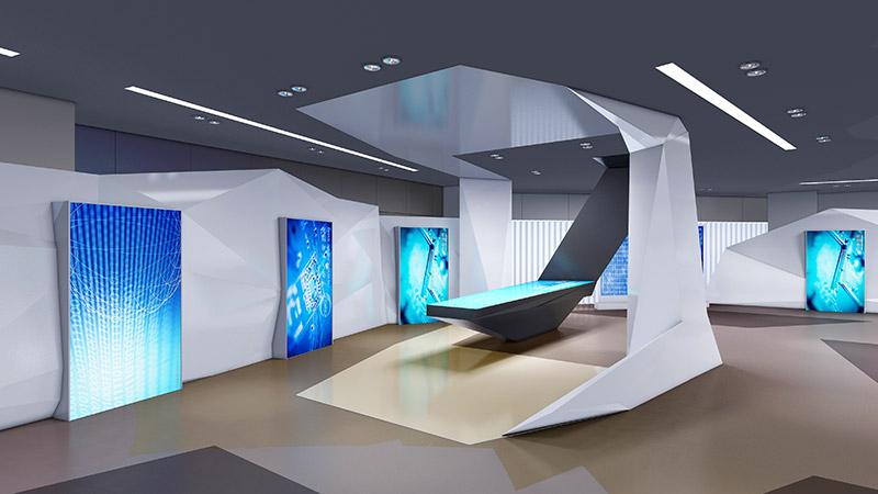 智能化展览馆互动桌面的特点