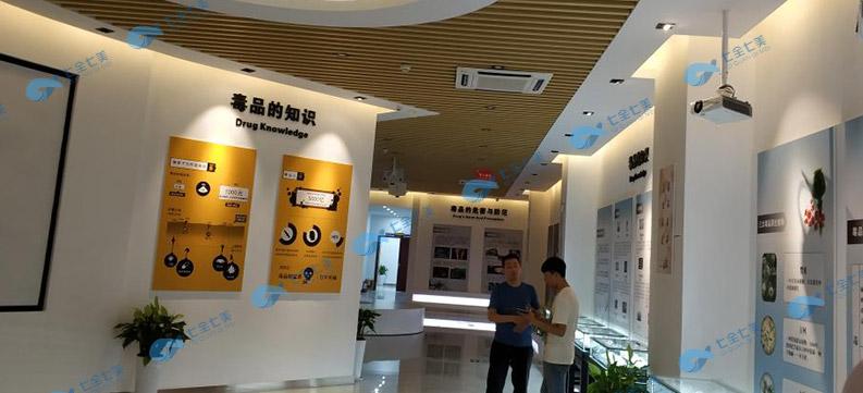 多媒体禁毒展厅方案-数字化禁毒展馆,声光电禁毒教育基地