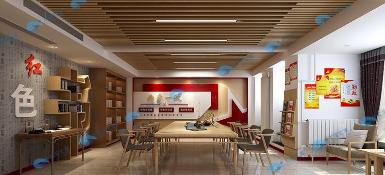 红色教育基地设计效果图